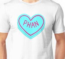 Phan Love Heart Unisex T-Shirt
