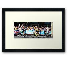 Bradley Wiggins Tour de France Framed Print