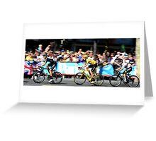 Bradley Wiggins Tour de France Greeting Card