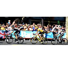 Bradley Wiggins Tour de France Photographic Print