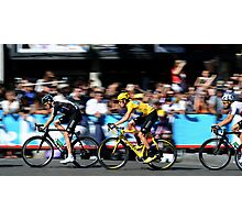 Bradley Wiggins Paris Photographic Print