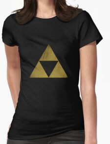 The Triforce Womens Fitted T-Shirt