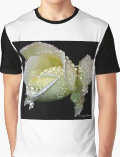 White Rose Graphic T-Shirt