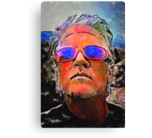 Wyatt's Mirrored Shades Canvas Print