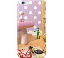A Child's Playroom - Where The Toys Live iPhone Case/Skin