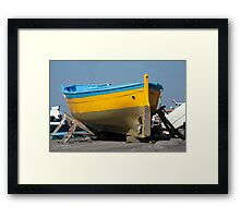 Waterline Paint Framed Print
