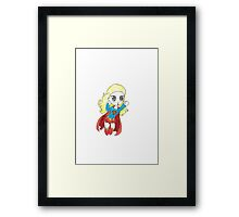 Supergirl Framed Print