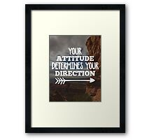 Your Direction Quote Framed Print
