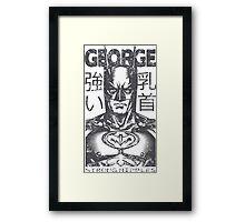 George Man (on light background) Framed Print
