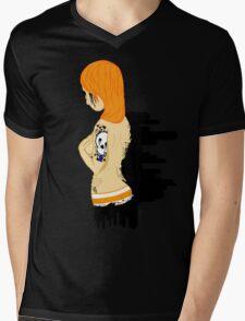 Black Tears Mens V-Neck T-Shirt