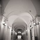 Through the Hallway  by MSPhoto