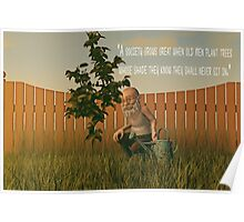 When Old Men Plant Trees Poster