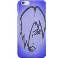 BlueGirl iPhone Case/Skin