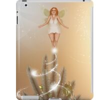 Fairy Atop The Christmas Tree iPad Case/Skin