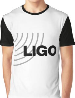 Laser Interferometer Gravitational-Wave Observatory (LIGO) Logo Graphic T-Shirt