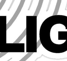 Laser Interferometer Gravitational-Wave Observatory (LIGO) Logo Sticker