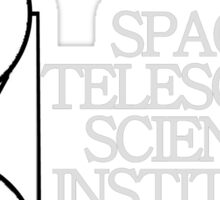 STSCI Logo for Dark Colors Sticker