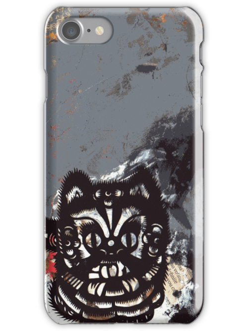 BlackCat iPhone Case by zoe trap