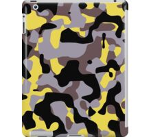 Yellow Stinger Camouflage iPad Case/Skin