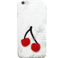 Cherries iPhone Case iPhone Case/Skin