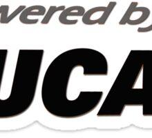 Powered by Ducati Sticker