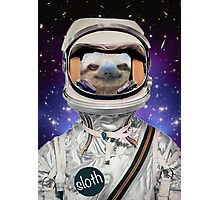 The Sloth Space Programme Photographic Print