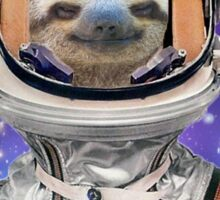 The Sloth Space Programme Sticker