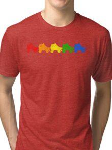 rainbow skates Tri-blend T-Shirt