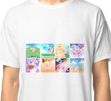 Kirby's Adventure - All 8 Levels Classic T-Shirt