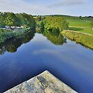 Yorkshire: River Wharfe Reflections at Burnsall by Rob Parsons