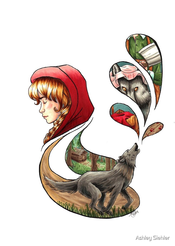 Little Red Riding Hood by WeileAsh
