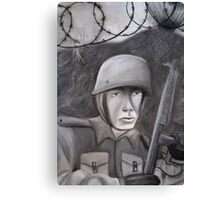 WWII Soldier Canvas Print