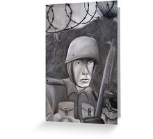 WWII Soldier Greeting Card