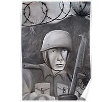 WWII Soldier Poster