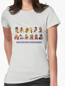 Street Fighter Failure Womens Fitted T-Shirt