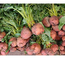 Bunches of Beets Photographic Print