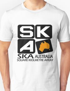 Square Kilometer Array Australia Logo T-Shirt