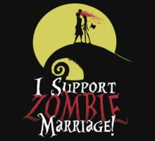 I Support Zombie Marriage! T-Shirt