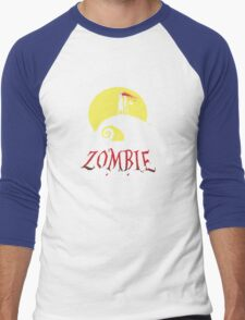 I Support Zombie Marriage! Men's Baseball ¾ T-Shirt