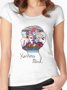 Xavier's Mind Women's Fitted Scoop T-Shirt