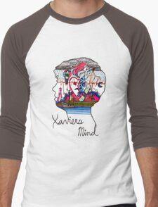 Xavier's Mind Men's Baseball ¾ T-Shirt