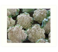 Cauliflower Art Print