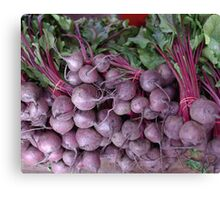 Red Beets Canvas Print