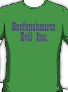 Doofenshmirtz Evil Inc. T-Shirt