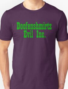 Doofenshmirtz Evil Inc. - GREEN Unisex T-Shirt