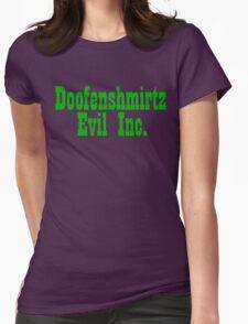 Doofenshmirtz Evil Inc. - GREEN Womens Fitted T-Shirt