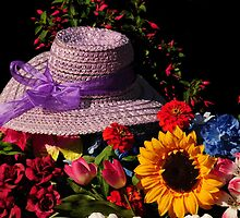 HAT AND FLOWER COLLECTION by RoseMarie747
