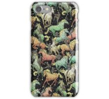 Ninjas+Unicorns iPhone Case/Skin