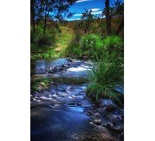 Creek Crossing Photographic Print