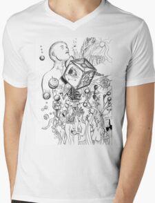 A Natural Unatural Mind Mens V-Neck T-Shirt